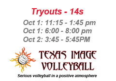 "<a href=""http://www.texasimagevolleyball.com/texas-image-tryouts/"">Tryout Info</a>"