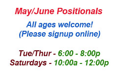 May/June Positionals