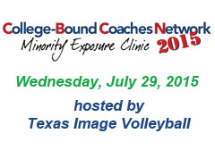 "<a href=""http://www.college-boundcoachesnetwork.com/2015-july-29---texas-image-minority-clinic.html"" target=""_new"">College Clinic</a>"