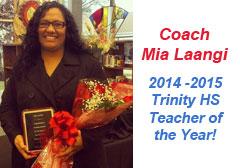 Coach Mia Langi