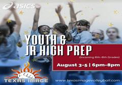 Youth & Jr. High Prep Camp!