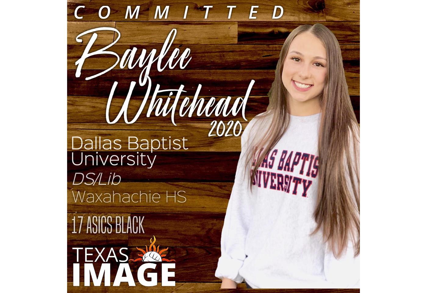 Baylee Whitehead - DBU