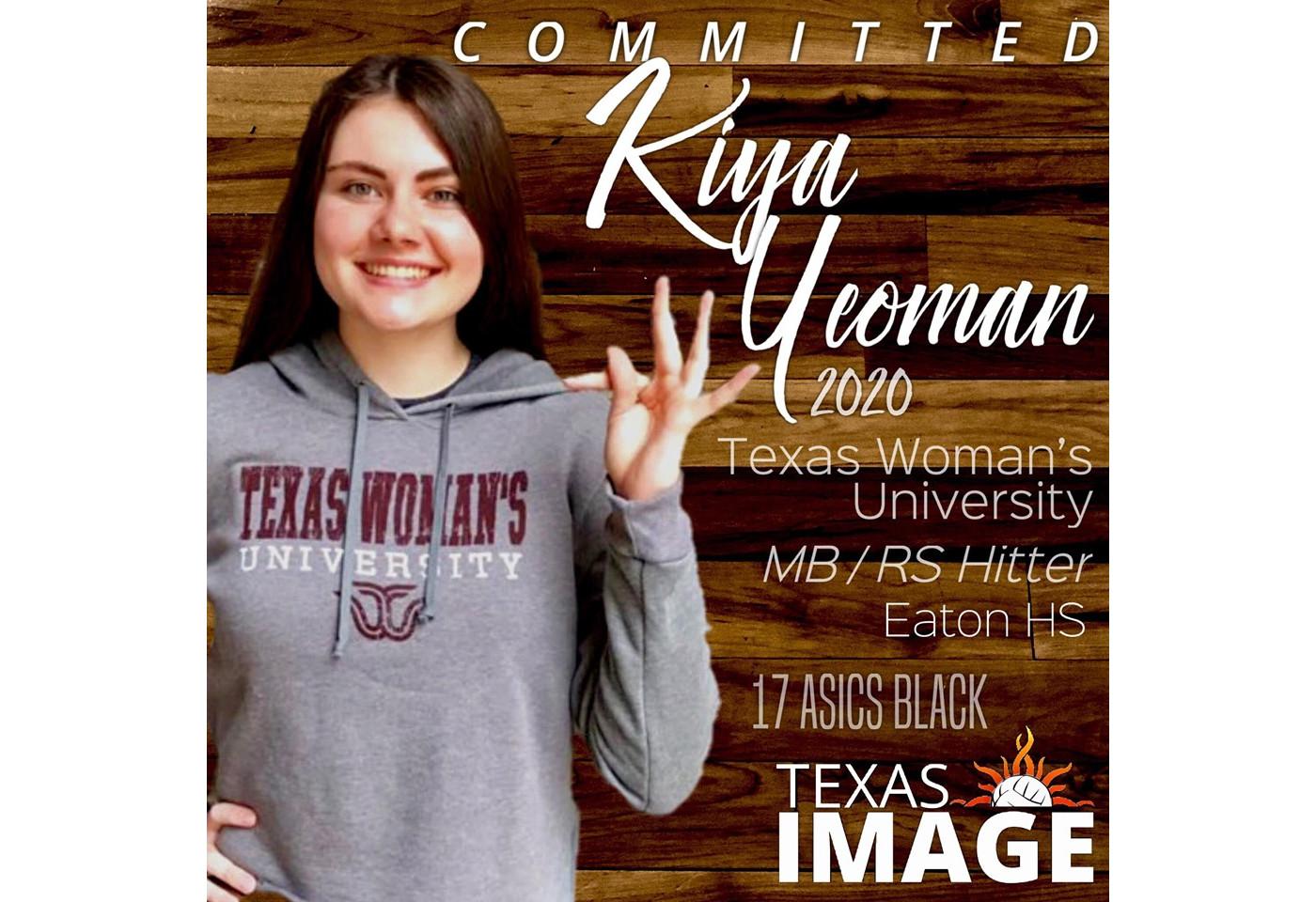 Kiya Yeoman - TWU
