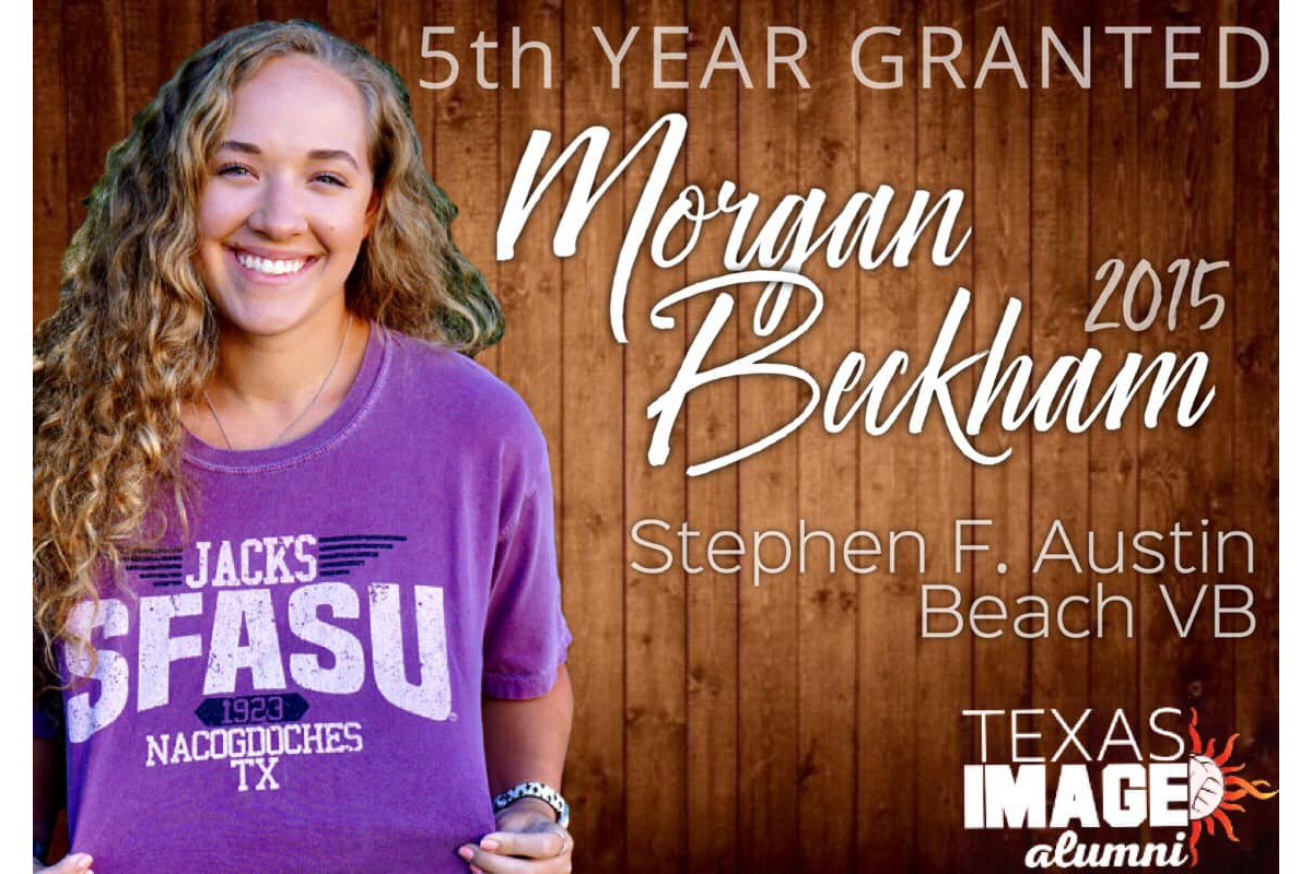 Morgan Beckham - SFA Beach