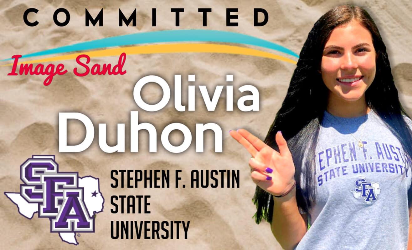 Olivia Duhon - SFA Beach